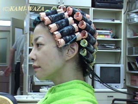 Product picture Japanese Lady perm video (yu-P001) DOWNLOAD